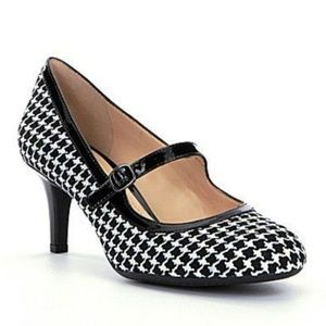 Alex Marie Katey Houndstooth Mary Jane Pumps 8